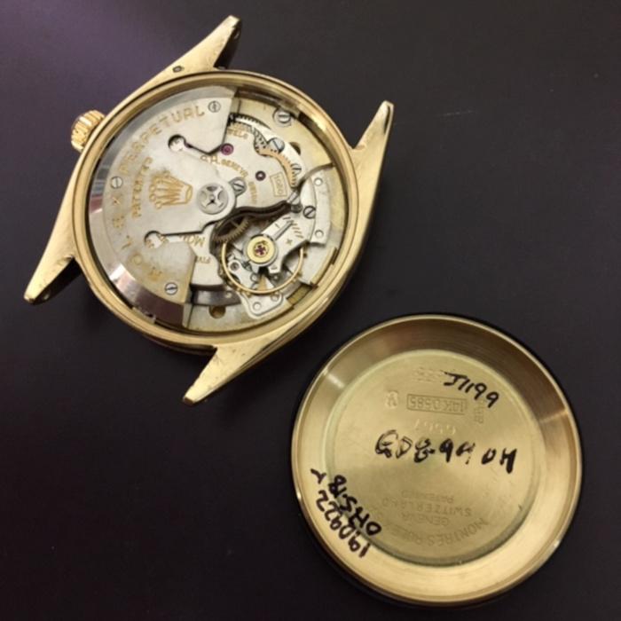 1950's Rolex Bombe 14K YG Wristwatch Ref. 6567
