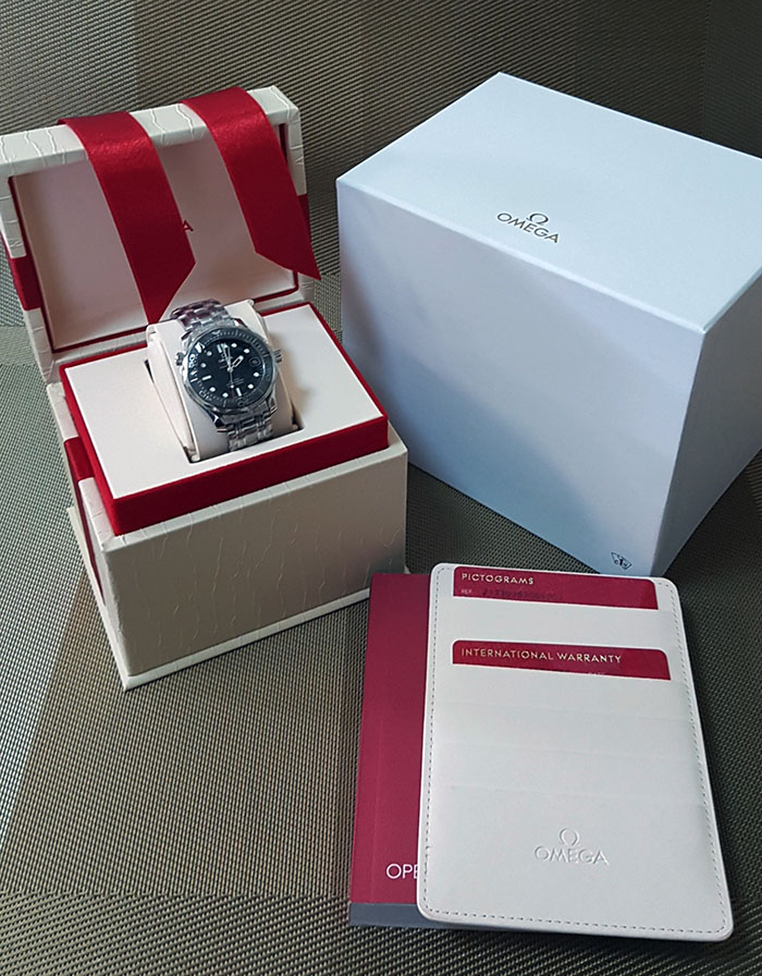 Omega Seamaster Professional Men's Co-Axial Wristwatch Ref. 212.30.36.20.01.002