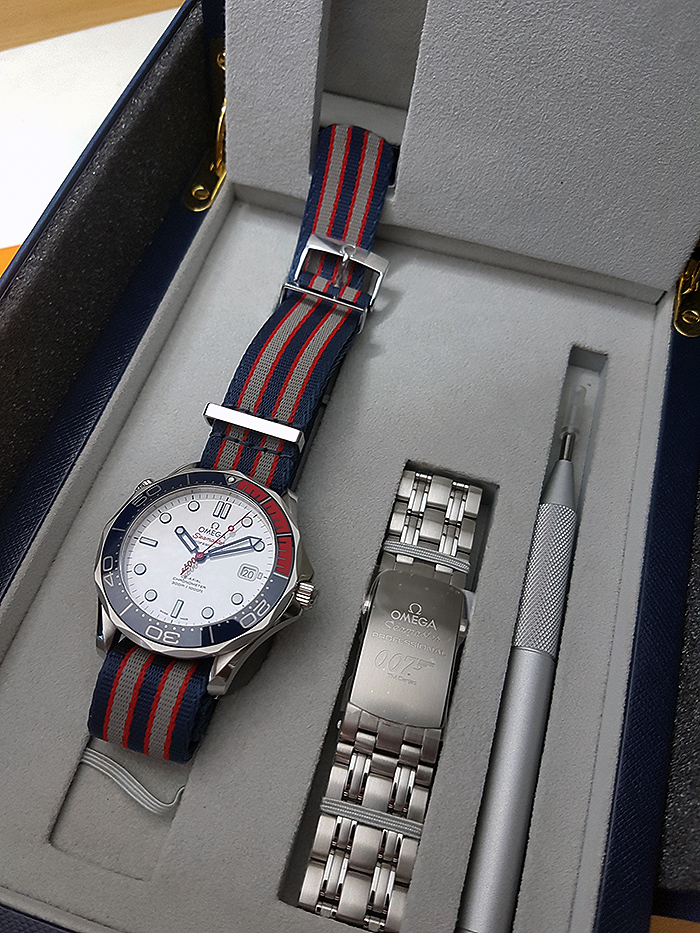 Omega Seamaster Diver 300M Co-Axial Commanders wristwatch Ref. 212.32.41.20.04.001