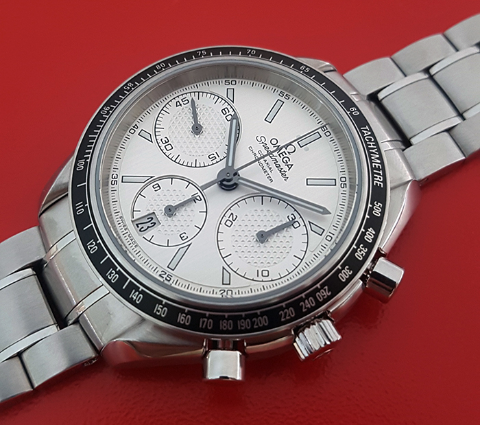 Omega Speedmaster Racing Co-Axial Chronograph Wristwatch Ref. 326.30.40.50.02.001