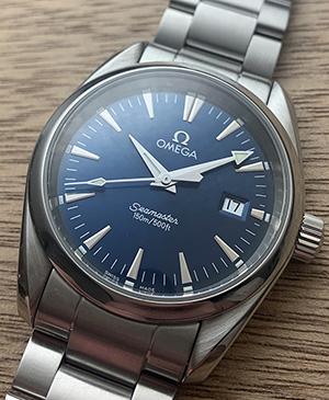 Omega Seamaster Aqua Terra Quartz Wristwatch Ref. 2518.80