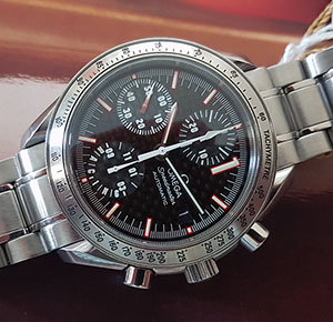 Omega Speedmaster Date Michael Schumacher Limited Edition Wristwatch Ref. 3519.50