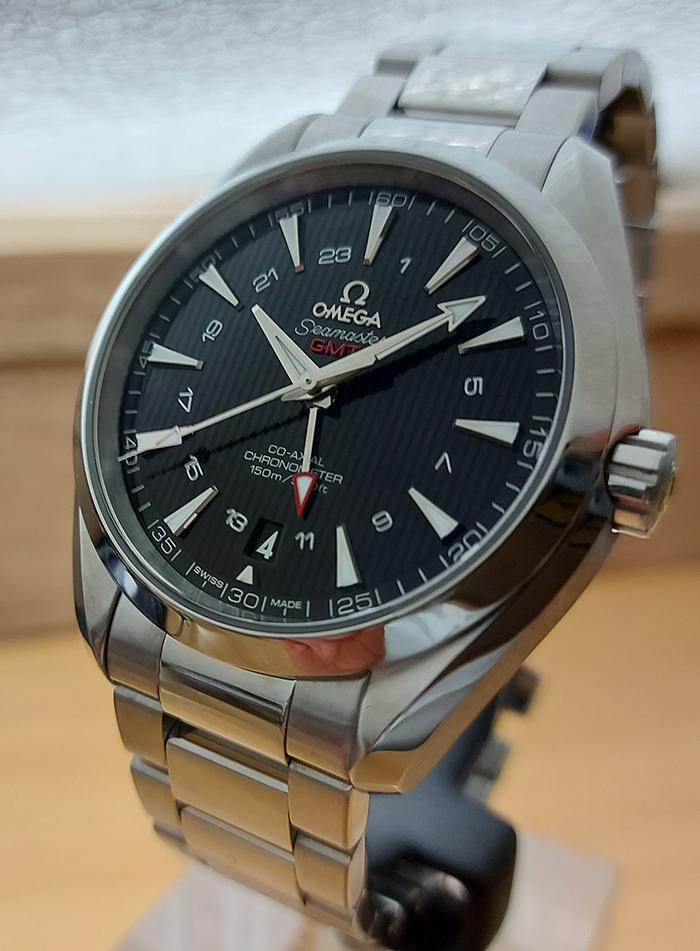Omega Seamaster Aqua Terra 150M Co-Axial GMT Wristwatch Ref. 231.10.43.22.01.001