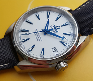 Omega Seamaster Aqua Terra Master Good Planet Co-Axial Titanium Wristwatch Ref. 231.92.39.21.04.001