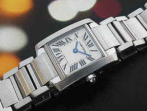 Ladies' Cartier Tank Francaise Quartz Ref. 2384