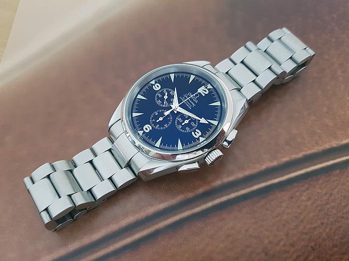 Omega Railmaster Wristwatch Ref. 2512.52.00