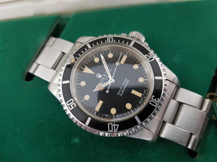 1979 Rolex Submariner Wristwatch Ref. 5513