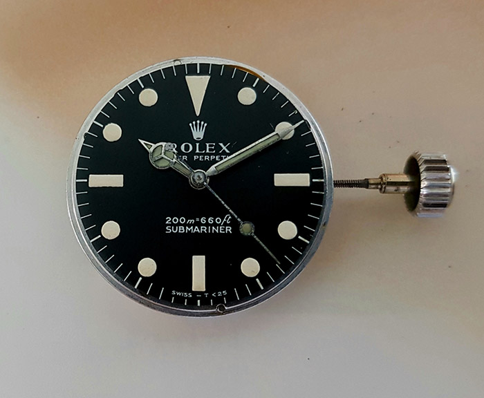 1967 Rolex Submariner Wristwatch Ref. 5513