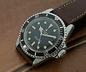 1968 Rolex Submariner Wristwatch Ref. 5513