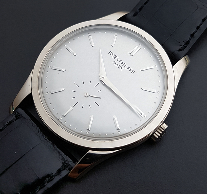 Patek Philippe Calatrava 18K WG Wristwatch Ref. 5196G-001